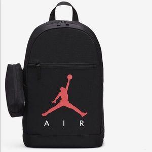 ✔️ Nike Backpack Air Jordan Schoolbag Bag Black